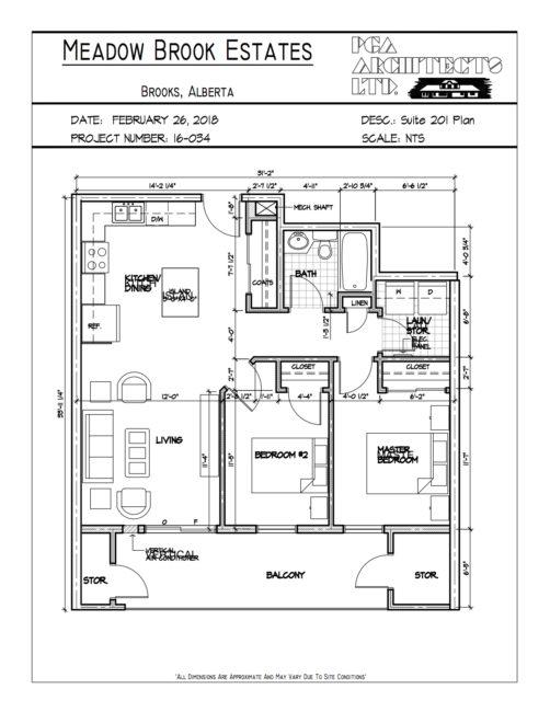floor plans Brooks condo