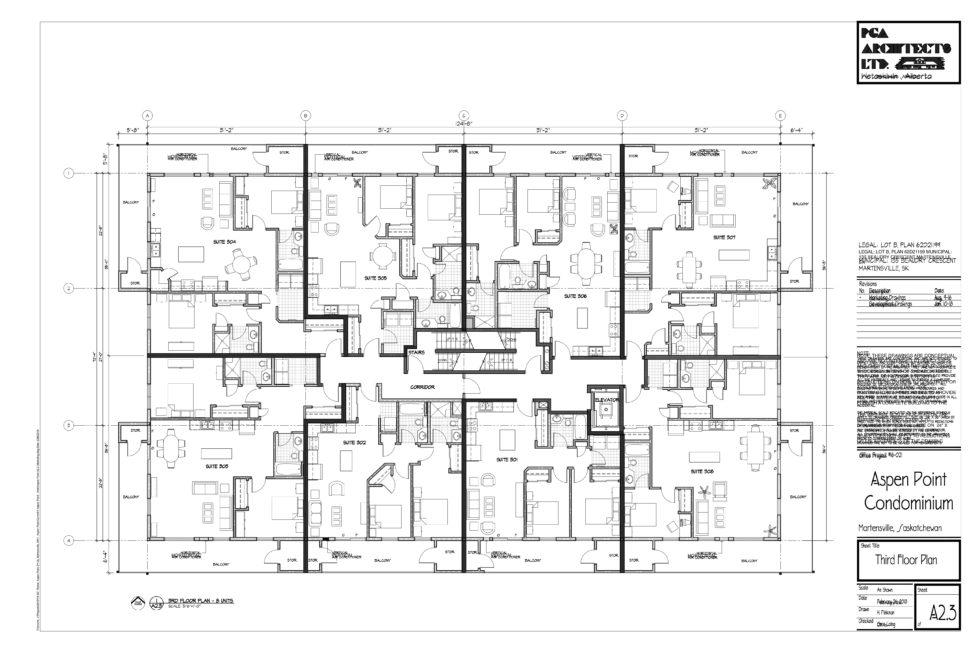 Martensville condo third floor