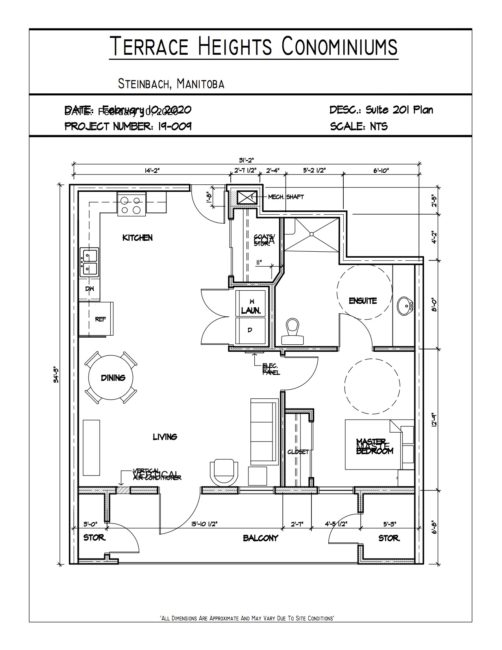 Suite 201 floor plan